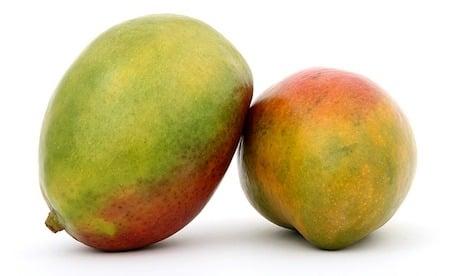 2 mangoes