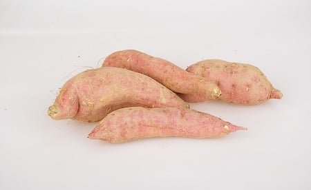 4 sweet potatoes